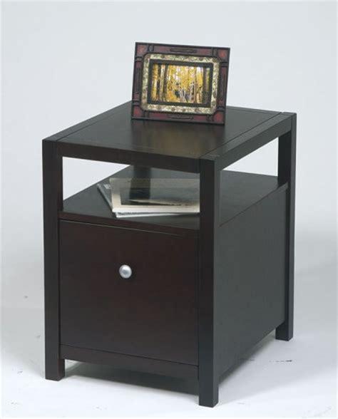 Espresso Solid Wood 1 Drawer File Cabinet 1 Drawer File Cabinet Wood
