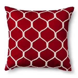 Sofa Pillows Target Threshold Ogee Corded Throw Pillow Target