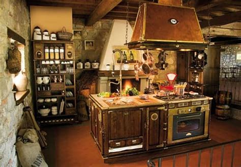 fashioned kitchen wooden kitchen fitted fashioned copper idfdesign