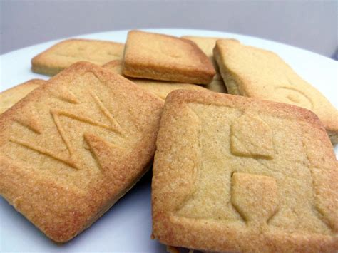 Letter Biscuit Sted Alphabet Biscuits