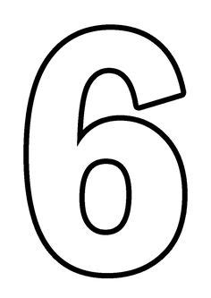 Цифры формата А4 | kartinki | Papel de parede lol, Molde