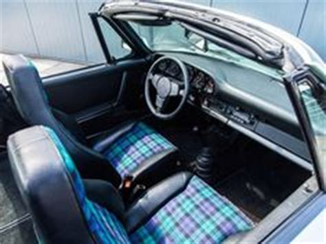 car upholstery scotland cool 68 outlaw scottish plaid porsche outlaw pinterest