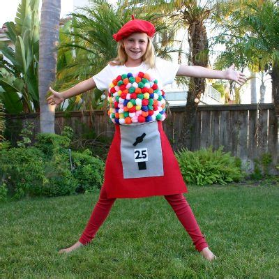 craft costumes bubblegum machine costume family crafts
