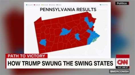 is pennsylvania a swing state new trump same as the old trump on thank you tour