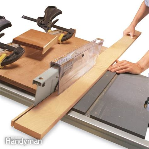table  ripping boards safely  family