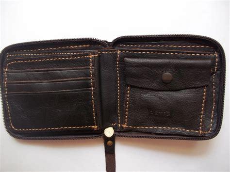 Genuine Leather Zip Wallet levis all around zip 100 genuine leather wallet