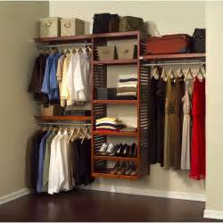 Closet Closet Systems Louis Home 16 Quot Deluxe Closet System Honey Maple