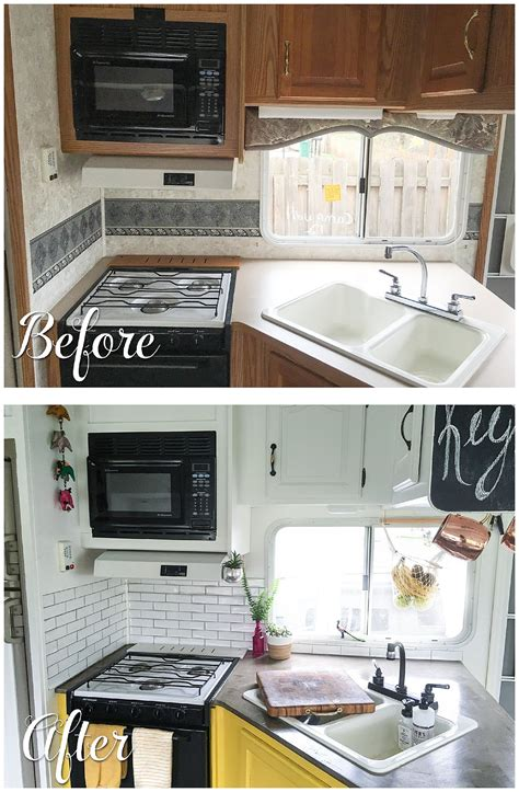 rv kitchen cabinets 60 best rv kitchen remodel ideas to enhance your rv