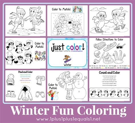 just color winter fun 1 1 1 1
