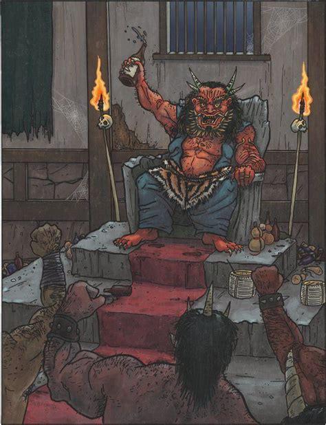 Born Evil Three shuten d鍗ji 閰掑憫绔ュ瓙 there are three monsters who are