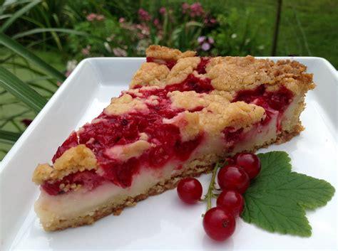 Kuchen Mit Johannisbeeren johannisbeer pudding kuchen