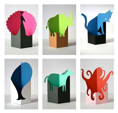 Paper Animals - 25 best ideas about paper animals on paper