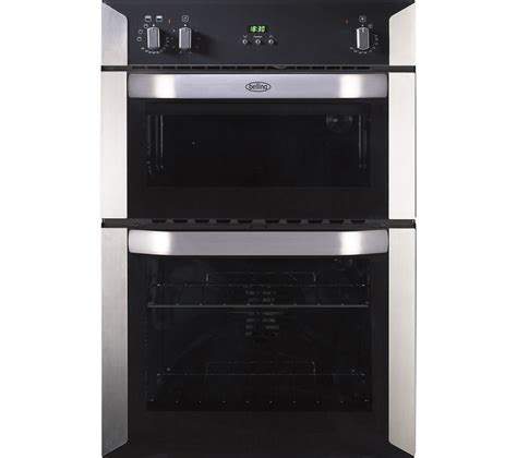 Buy BELLING BI90FP Electric Double Oven   Stainless Steel
