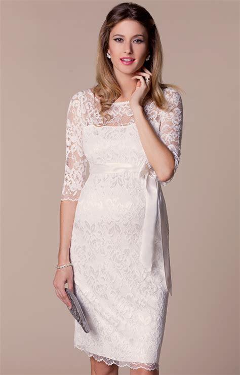 Maternity Wedding Dresses by Amelia Lace Maternity Wedding Dress Ivory