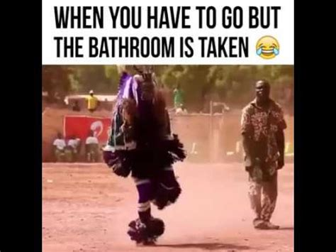 have to go to the bathroom bathroom occupied funny video youtube