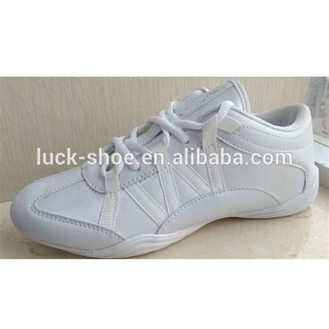 cheap cheer shoes white soft durable zapatillas cheer shoes