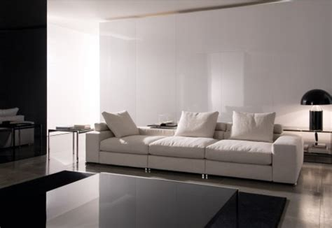 Modern Low Back Sofas Minotti Jagger Low Back Sofa Contemporary Sofas By Stylepark