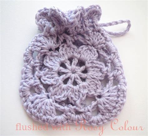 crochet lavender bags pattern free flushed with rosy colour little lavender sachet free