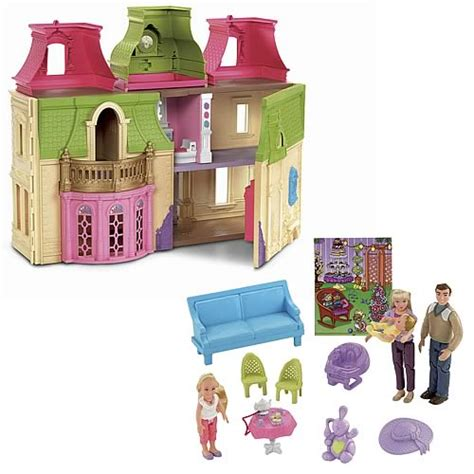 doll house family loving family mansion dream dollhouse fisher price loving family playsets at