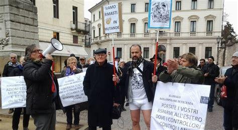 popolare vicenza genova al corteo per popolare vicenza sindaco di resana sfila in