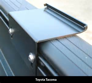 Toyota Tacoma Bed Rail System Toyota Bed Rail System Accessories