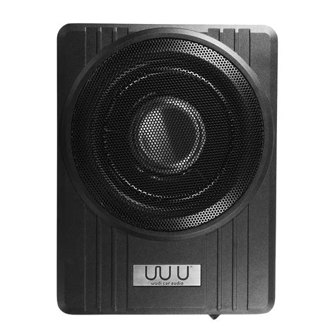 truck speakers seat 10 inch 12v 600w black ultra thin seat car active