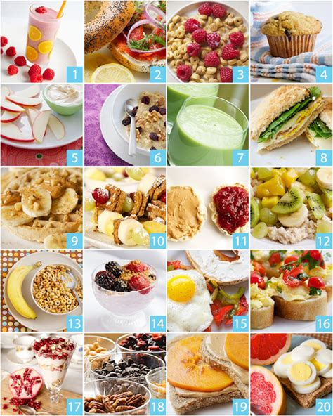 20 quick healthy breakfast ideas babycenter