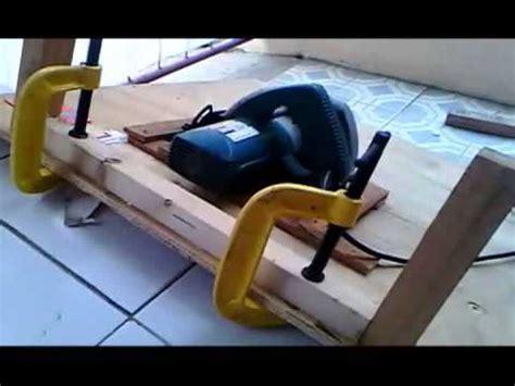 Gergaji Lidi modifikasi mesin serut kayu meja doovi
