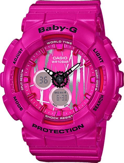 Gshock Baby G Black Pink ba120sp 4a baby g ba 120 series womens watches casio
