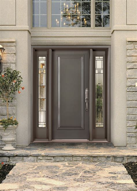 exterior steel doors with glass exterior steel entry doors with glass metal glass doors