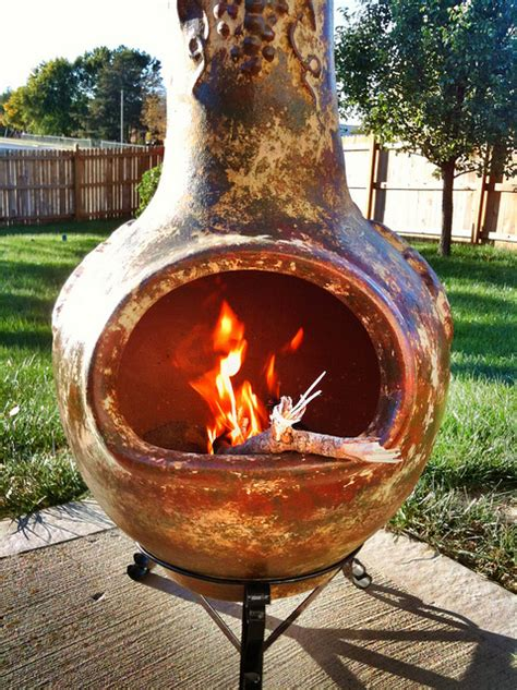 Make Your Own Chiminea 20 Patio Design Ideas From Norwood Ma Masonry Contractors