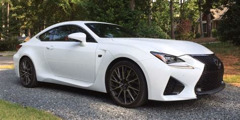 the lexus rc f is a v8 beast in a turbo world
