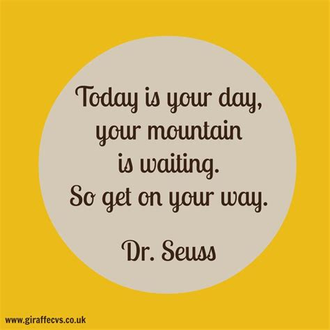 cvs quote today is your day giraffe cvs career quotes