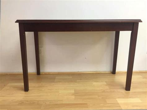 Handmade Table L - buy handmade modern solid rosewood display table 48 inch l