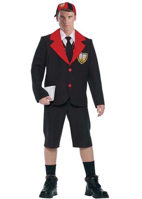 Dress Fast Hijau Army Blue Ac 80s acdc angus style schoolboy rocker costume