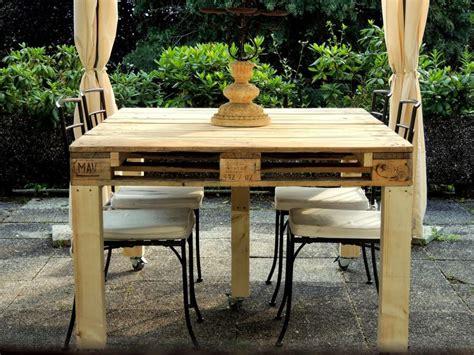 tavoli con bancali tavolo con pallet riciclato different design