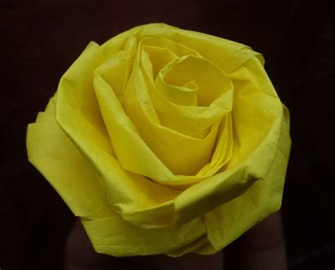 How To Make Paper Roses With Tissue Paper - how to make a with tissue paper and easy