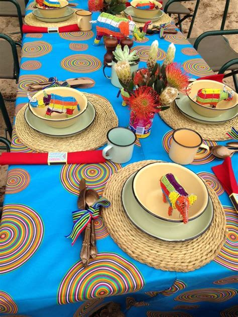 table decor proudly sa themed proudly south
