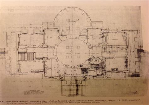 vanderbilt floor plans vanderbilt mansion hyde park basement floor plans