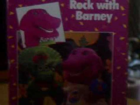 Barney And The Backyard Rock With Barney by Original 1991 Copy Of Rock With Barney