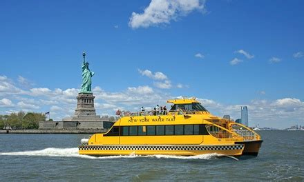 boat rental nyc groupon new york water taxi tour discounts nyc cheap travel