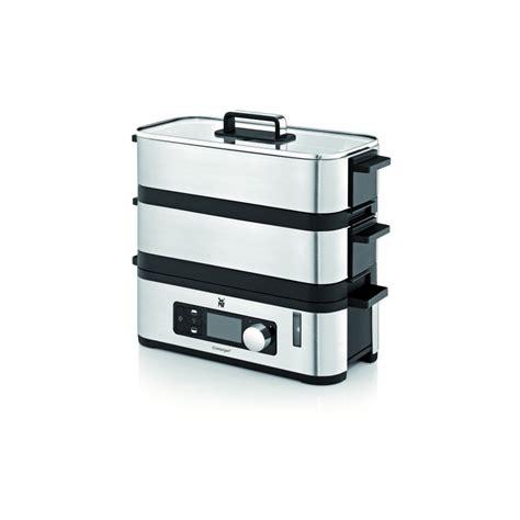 kitchen steamer appliance wmf kitchenminis vitalis e steamer newformsdesign small