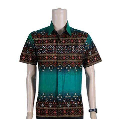 Kemeja Pria Black Mix Batik 2 kemeja batik pria modern toko grosir