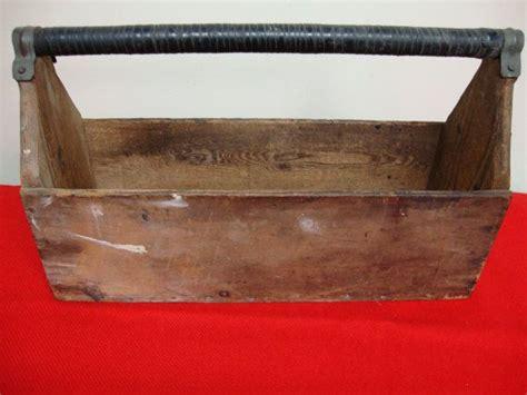Handmade Tool Box - handmade primitive wood tool box
