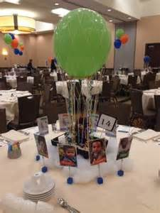 air balloon centerpiece kits haiti fundraiser colors represent color of haitian flag