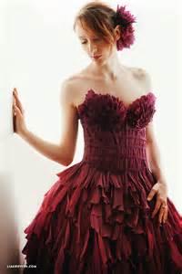 Paper Dresses - my crepe paper dresses lia griffith