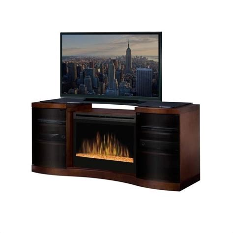 dimplex acton electric fireplace media console gds33g