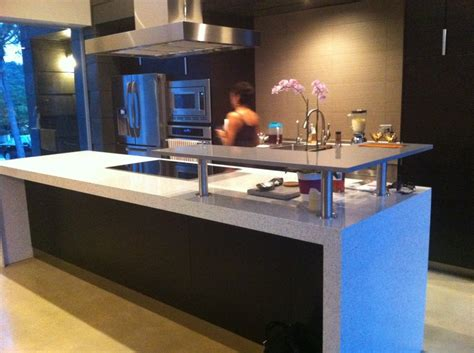 Quartz Island Countertop Just Installed This Beautiful Countertop In A Quartz By