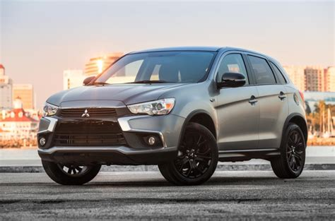 2017 mitsubishi outlander sport mitsubishi taking covers off new outlander sport in