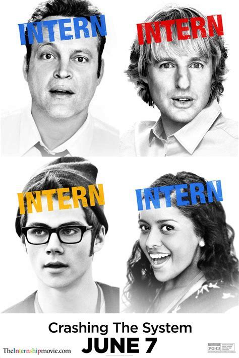 The Internship gets new posters ? The Second Take